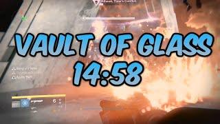 Vault of Glass Speedrun World Record (14:58)