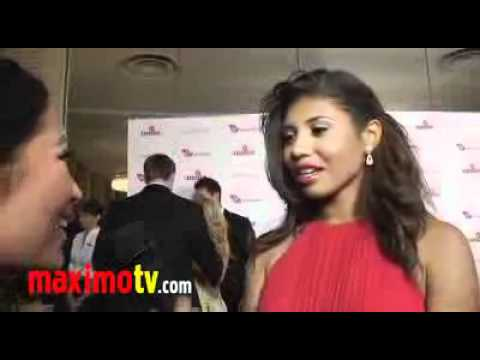 Genevieve Jackson - Interview at 4th Annual Rock The Kasbah Gala.