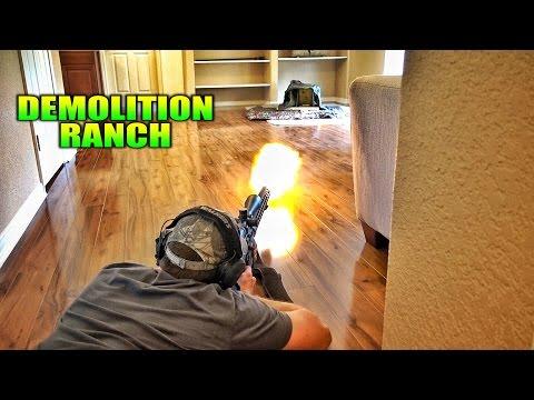 Living Room Gun Range...