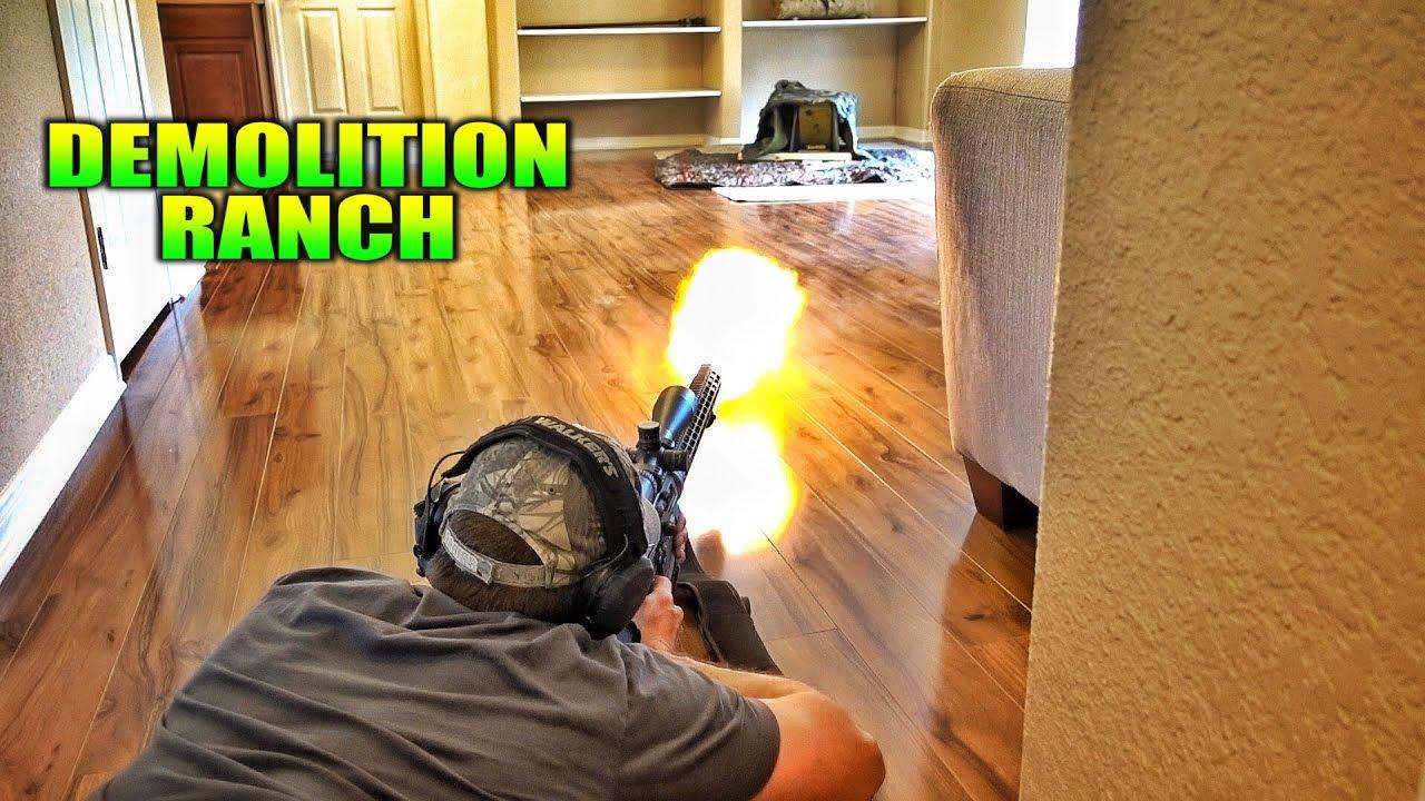 Living Room Gun Range