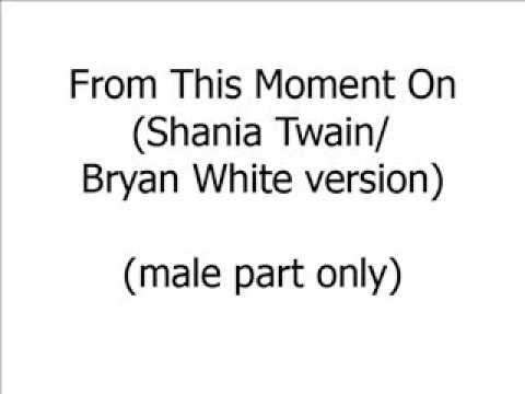 From This Moment On (male part only)