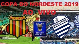 Sampaio Correa 0 X 3 CSA  ao vivo HD - Copa do Nordeste 2019