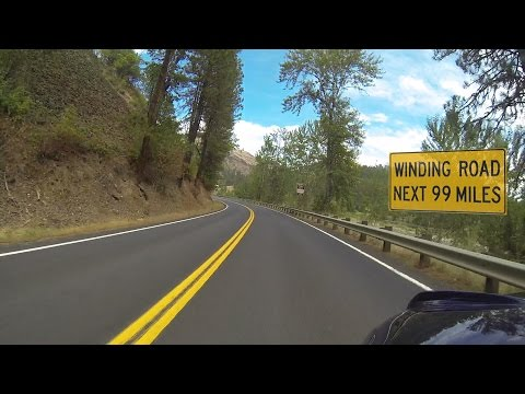 Idaho Motorcycle Ride: Lolo Pass, Part 2 of 3, Kooskia to Lolo Pass Summit