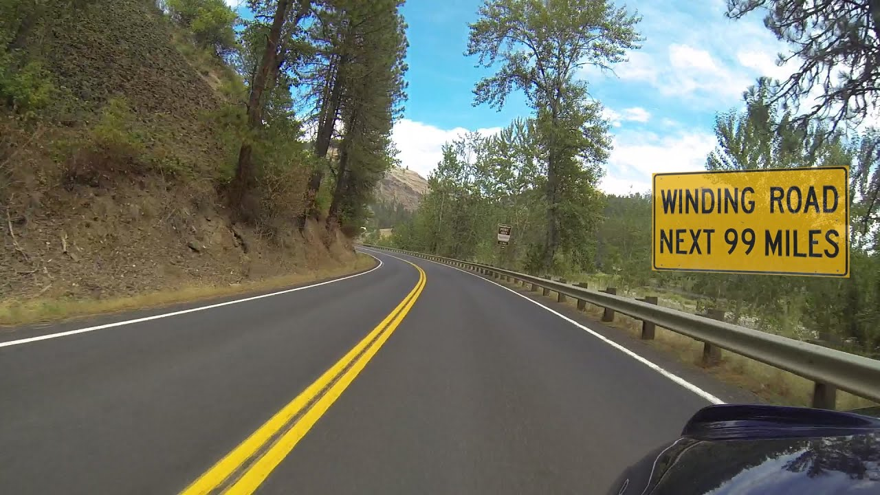 Idaho Motorcycle Ride Lolo Pass Part 2 Of 3 Kooskia To Lolo Pass