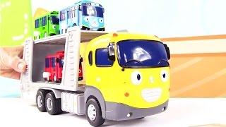 Тайо маленький автобус. Автовоз. Игрушечные машинки. Развивающее видео