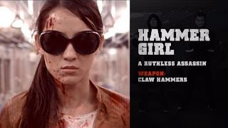 Meet Hammer Girl (THE RAID 2 clip)