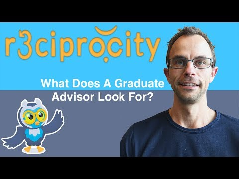 What Do Thesis Advisors Look For In A Graduate School Applicant? - Thesis Help