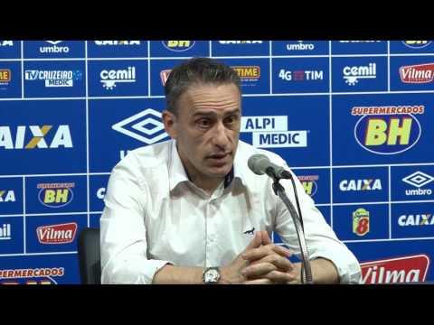 Paulo Bento fala após o jogo contra o Figueirense 21/05/16