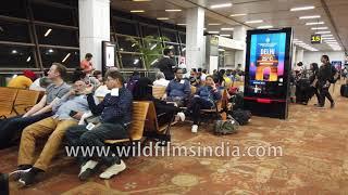 Delhi International Airport T3 Terminal departures from IGIA