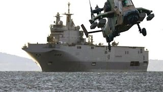 حاملة الطائرات الميسترال المصرية