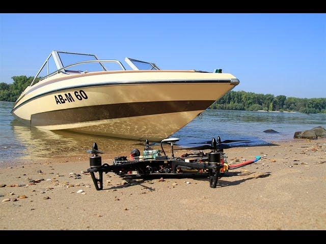 Boat Shooting am Rhein