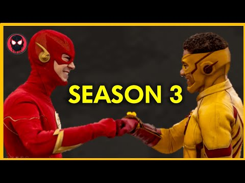 The Flash Season 3 Episode 1 Opening Scene...