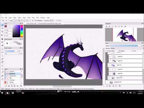 Speedpaint - Ender Dragon