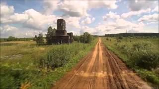 Красота всей России в одном клипе (съёмка с квадрокоптера)
