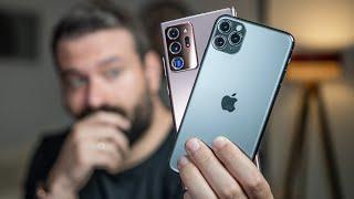 IPhone 11 Pro Max Ile Note 20 Ultra : Kamera Karşılaştırma