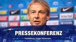 Pressekonferenz zur Trainervorstellung von Jürgen Klinsmann