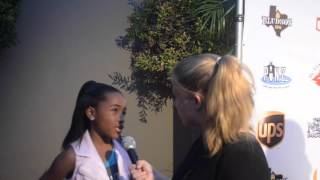 Layla Crawford Interview at 12th Annual Sickle Cell Disease Awareness Bowling Tournament