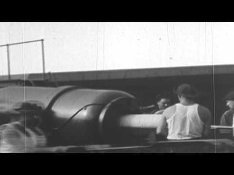 West Coast Artillery Post - 10-inch Gun Firing