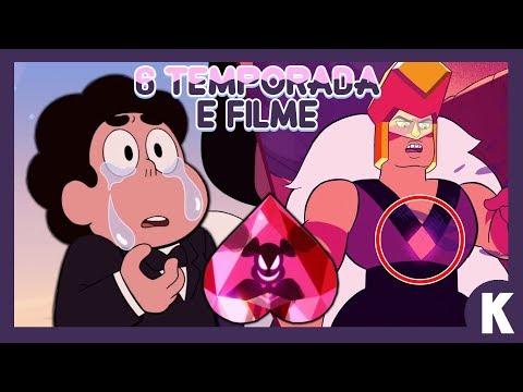 STEVEN UNIVERSO 6 TEMPORADA RED DIAMOND E FILME