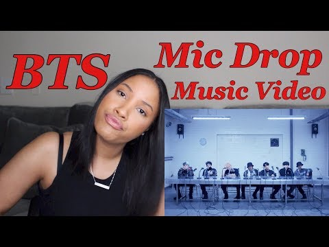 BTS Mic Drop Remix MV Reaction (feat. Steve Aoki)