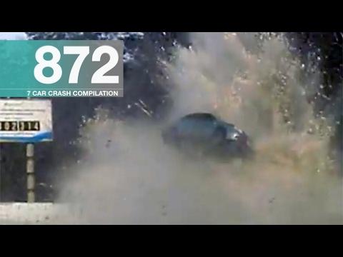 Car Crash Compilation 872 - February 2017