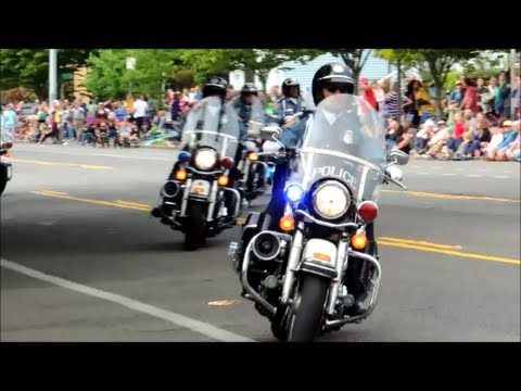 Lights And Sirens Seattle Police Motorcycle Drill Team