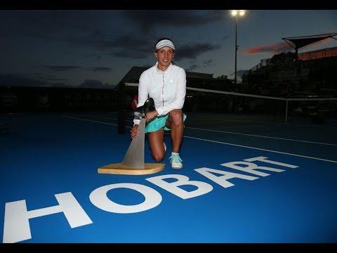 2018 Hobart International Final | Elise Mertens vs Mihaela Buzărnescu | WTA Highlights