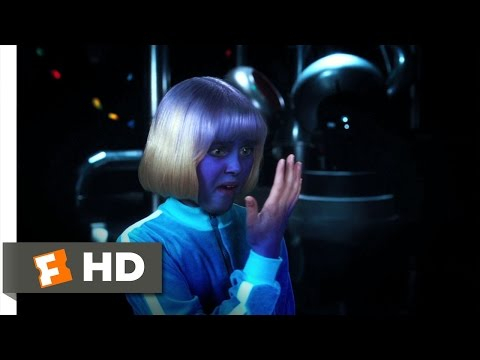Charlie and the Chocolate Factory 35 Movie   Violet Turns Violet 2005 HD