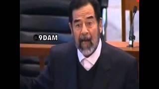 اقوى ( كلمات لـ زعيم العرب صدام حسين  اثناء محاكمة