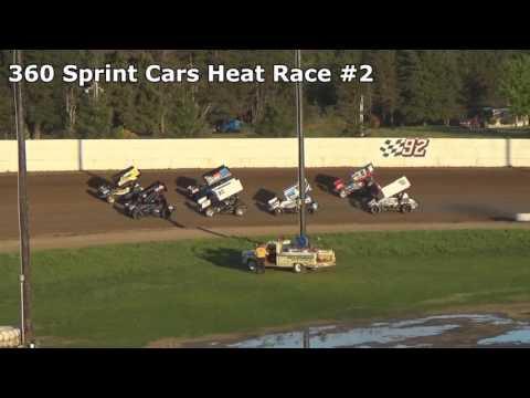 Grays Harbor Raceway May 20, 2017, 360 Sprint Car Heat Races 1 and 2