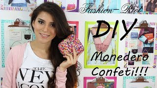 DIY Monedero Confeti  | Fashion Riot Thumbnail