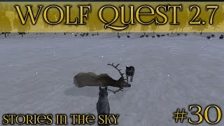 Dreams of Cold Winter Hunts 🐺 Wolf Quest 2.7 - Stories in the Sky 🐺 Episode #30