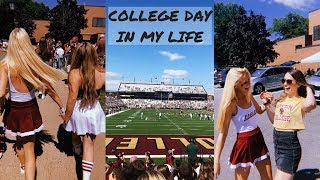 COLLEGE DAY IN THE LIFE: gameday at boston college