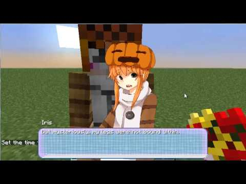 Minecraft mob talker script showcase vanessa the cave