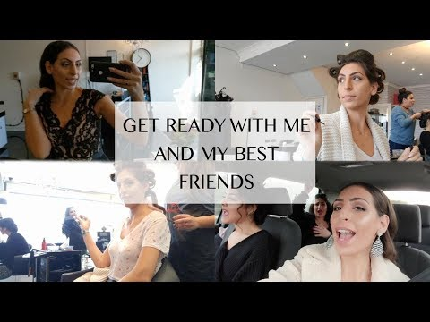 GET READY WITH ME AND MY FRIENDS FOR A...
