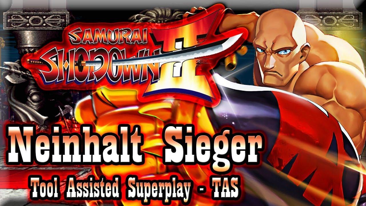 Download 【TAS】SAMURAI SHODOWN 2 (SHIN SAMURAI SPIRITS HAOHMARU JIGOKUHEN) - NEINHALT SIEGER