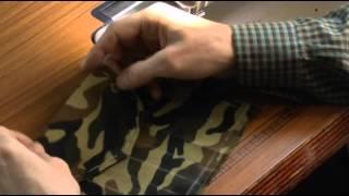 Как шить накладной карман с клапаном. Видео урок.