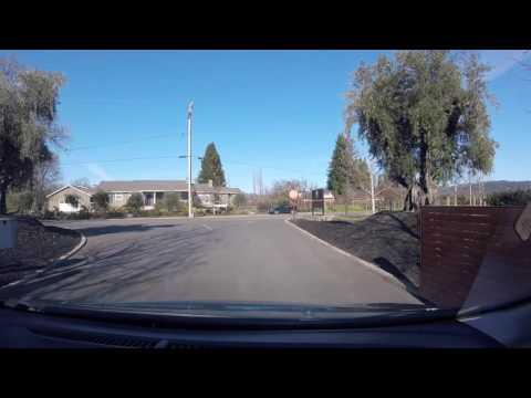 Driving from Napa To Petaluma