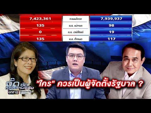 เลือกตั้ง 2562 : ใคร ควรเป็นผู้จัดตั้งรัฐบาล ? | จั๊ด ซัดทุกความจริง | ข่าวช่องวัน | one31