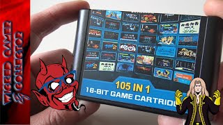 Sega Megadrive 105 in 1 Multi Retro Game Collection Carridge Review