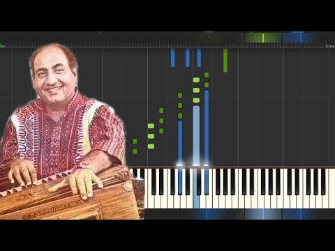 ABDULLAH | MAINE POOCHA CHAND SE | PIANO TUTORIAL | FREE MIDI | MMP (HINDI)