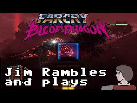 Jim Plays Far Cry Blood Dragon For Some Reason