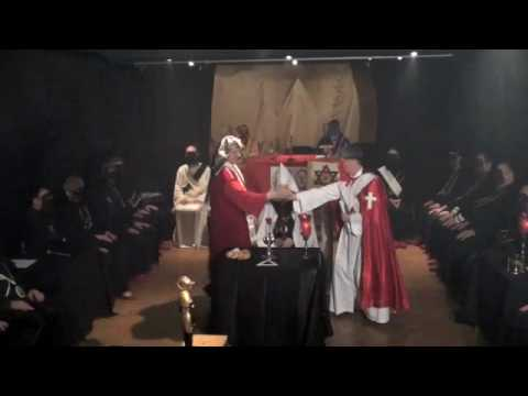 3a. Golden Dawn Temple Eucharist Ritual and Lectur...