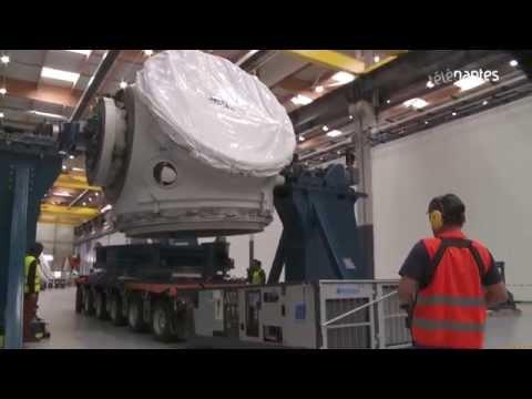 Eolien offshore : Les usines Alstom de Montoir entrent en production