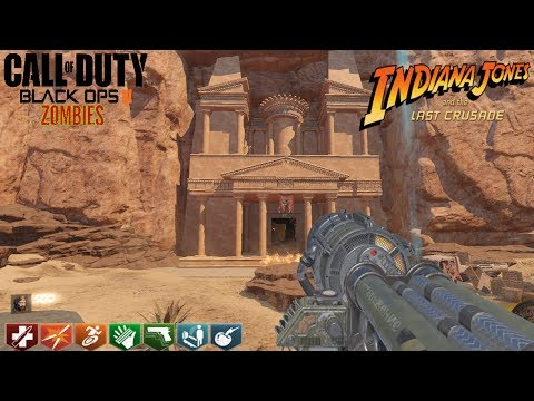 "INDIANA JONES CUSTOM ZOMBIES ""THE LAST CRUSADE"" CON EASTER EGG 
