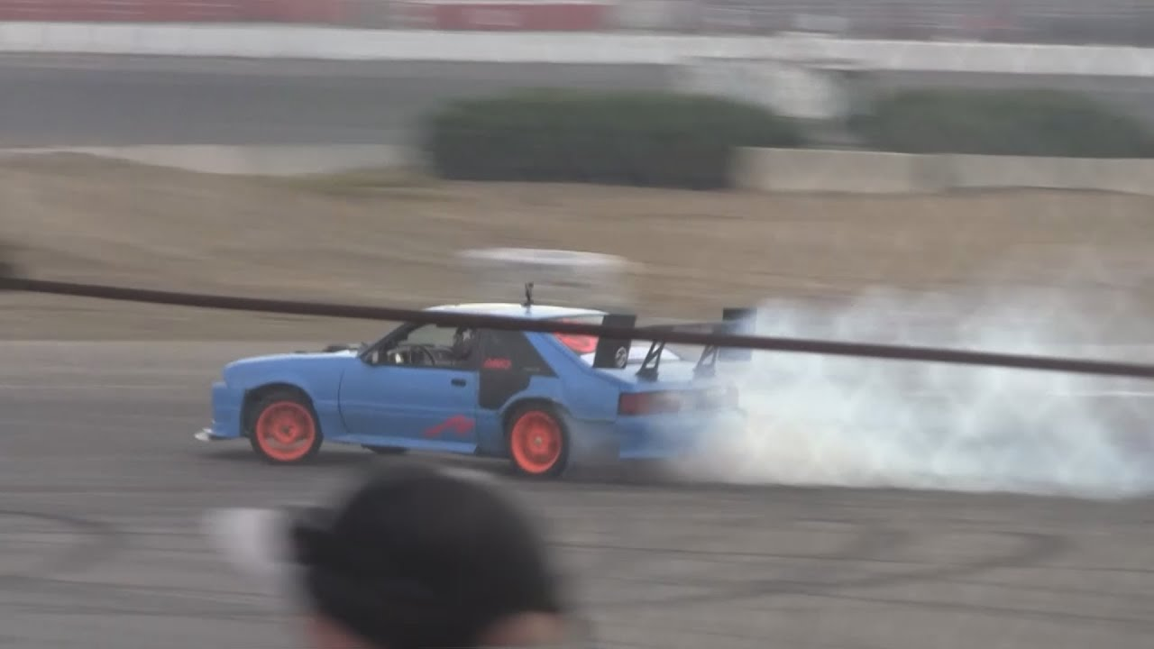 fox body mustang drifting at driftoberfest youtube. Black Bedroom Furniture Sets. Home Design Ideas