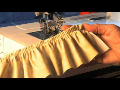 Janome The Ultimate Ruffler Video Creating Ruffles And Pleats YouTube Classy Gathering Foot For Kenmore Sewing Machine
