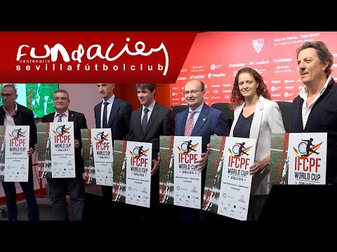 Presentado el cartel de la Copa del Mundo IFCPF de Fútbol-7