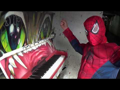 Spiderman Plays Piano (Like a Boss of the Blues)