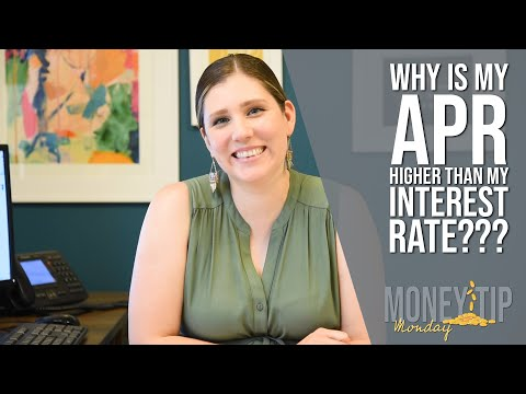 The Difference Between APR And Interest Rate